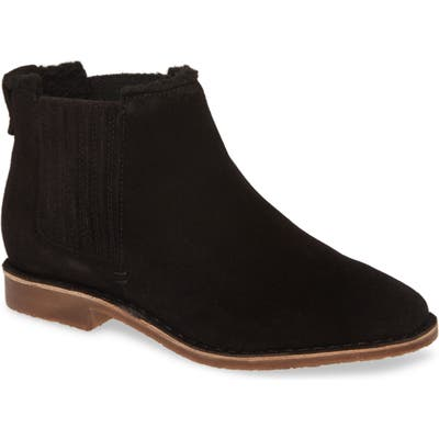 Seychelles Pool Cozy Bootie, Black