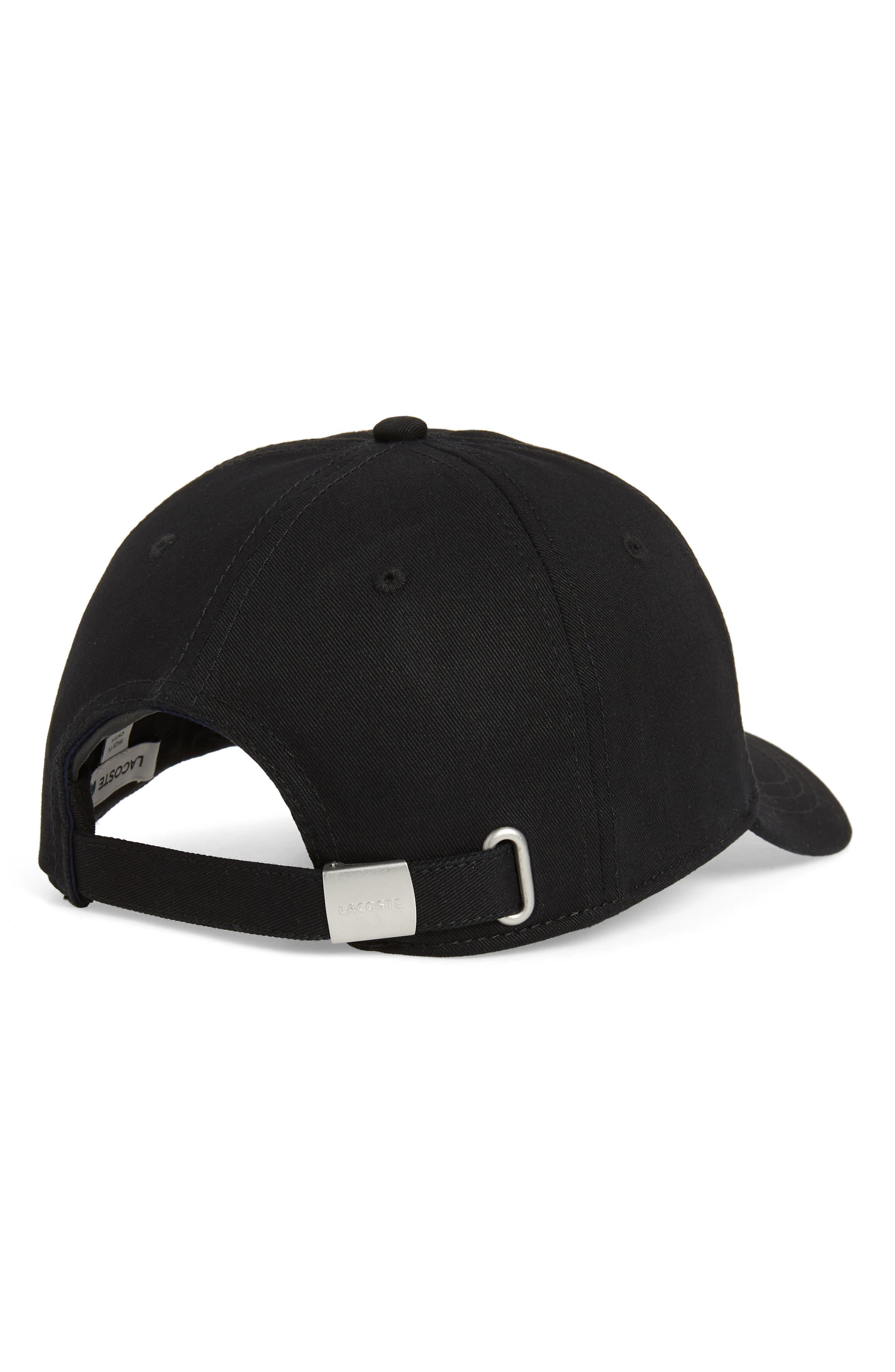 ,                             Big Croc USA Appliqué Baseball Cap,                             Alternate thumbnail 2, color,                             BLACK