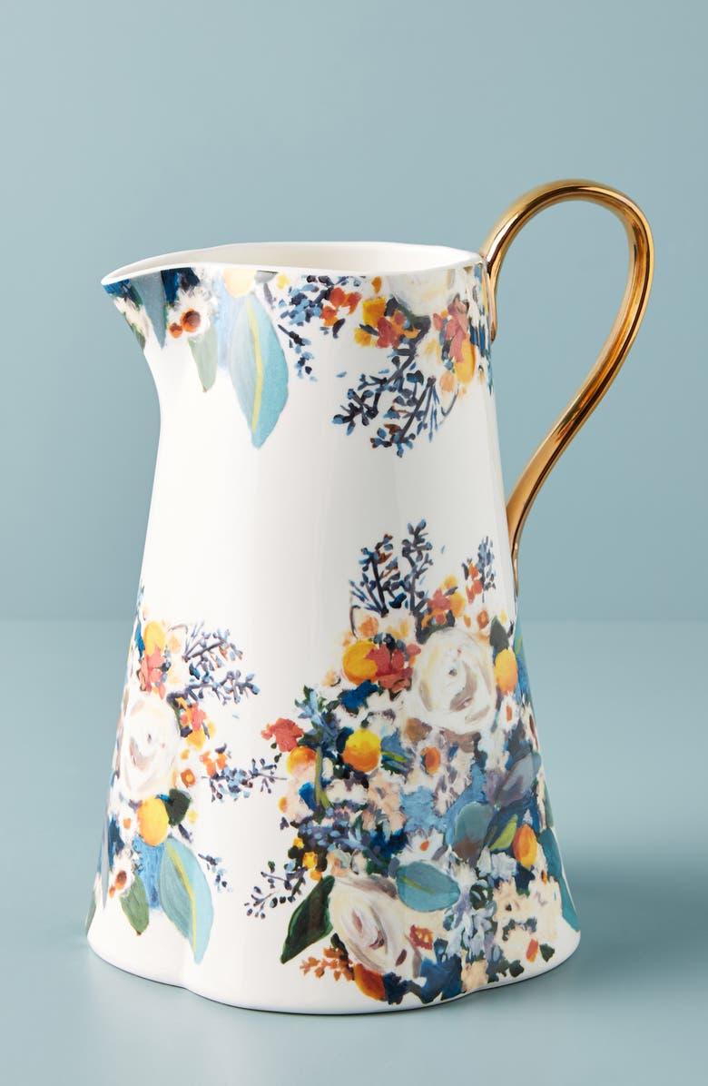 ANTHROPOLOGIE Botanica Pitcher, Main, color, 100