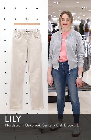 Marilyn High Waist Stretch Straight Jeans, sales video thumbnail