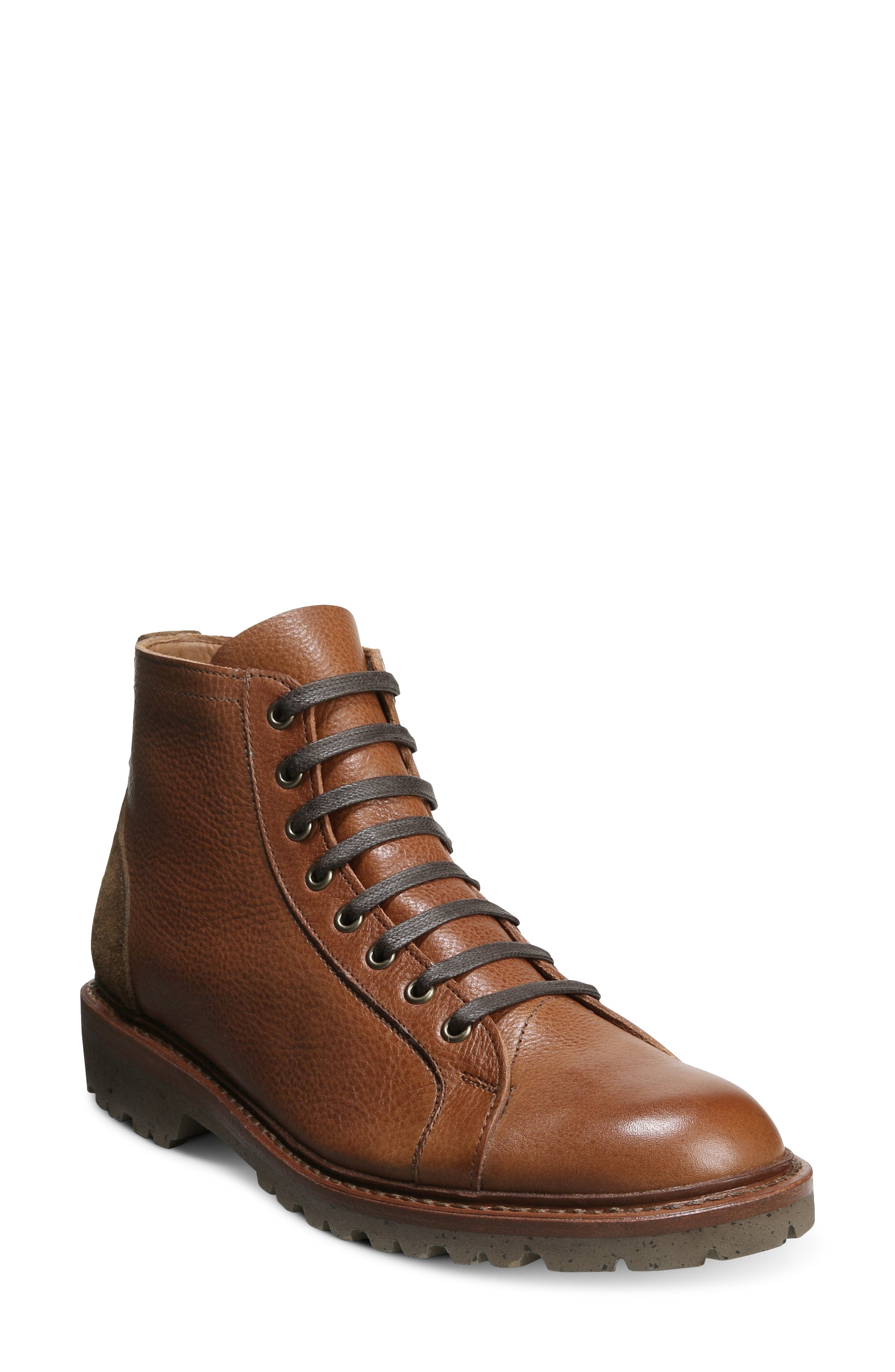 Discover Lugged Lace-Up Boot