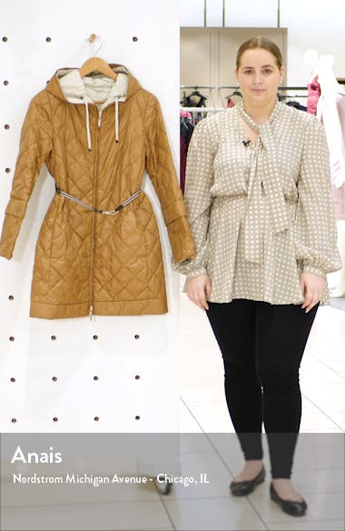 Enovel Reversible Hooded Down Jacket with Detachable Cuffs, sales video thumbnail