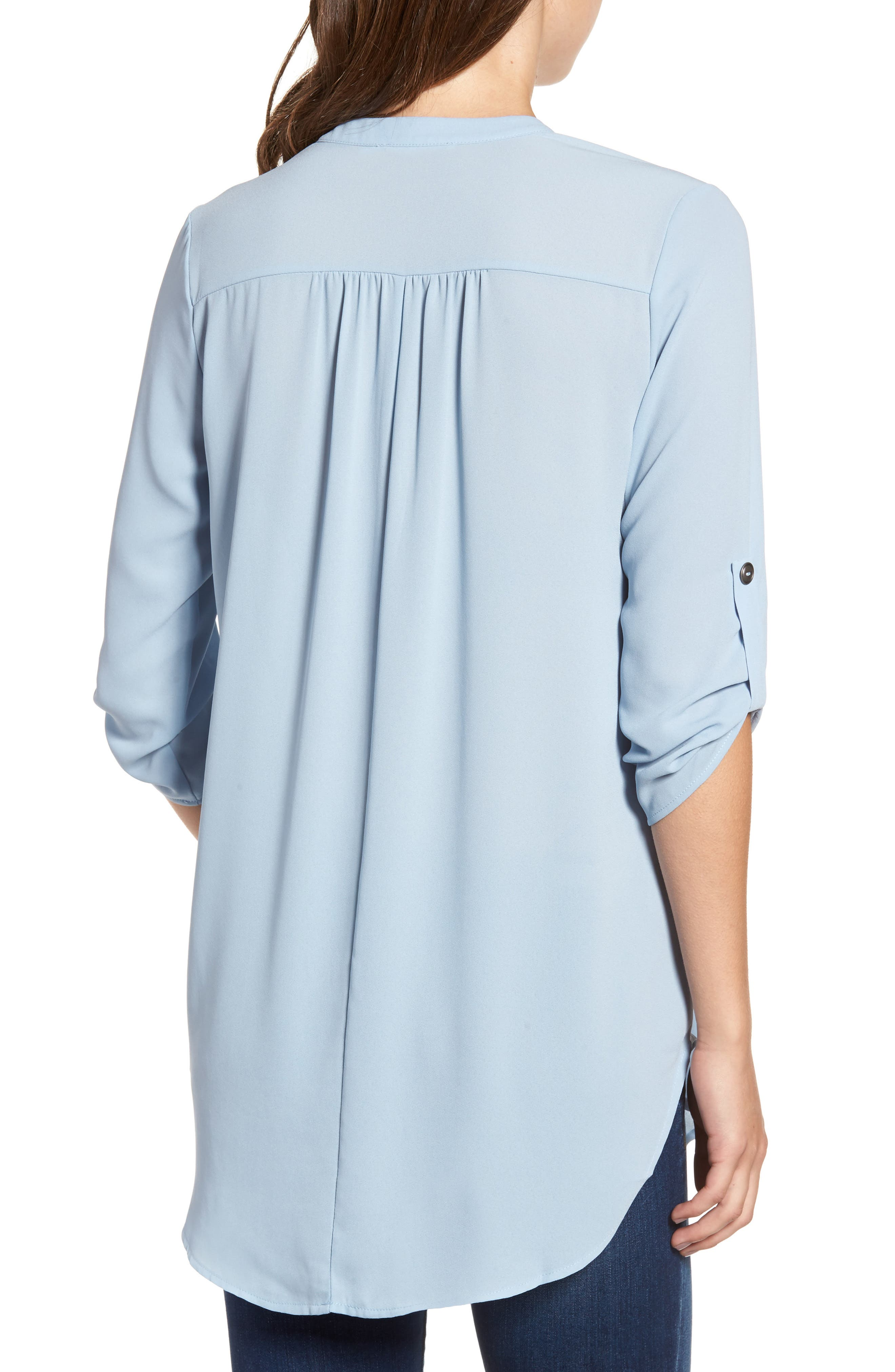 ,                             Perfect Roll Tab Sleeve Tunic,                             Alternate thumbnail 99, color,                             433