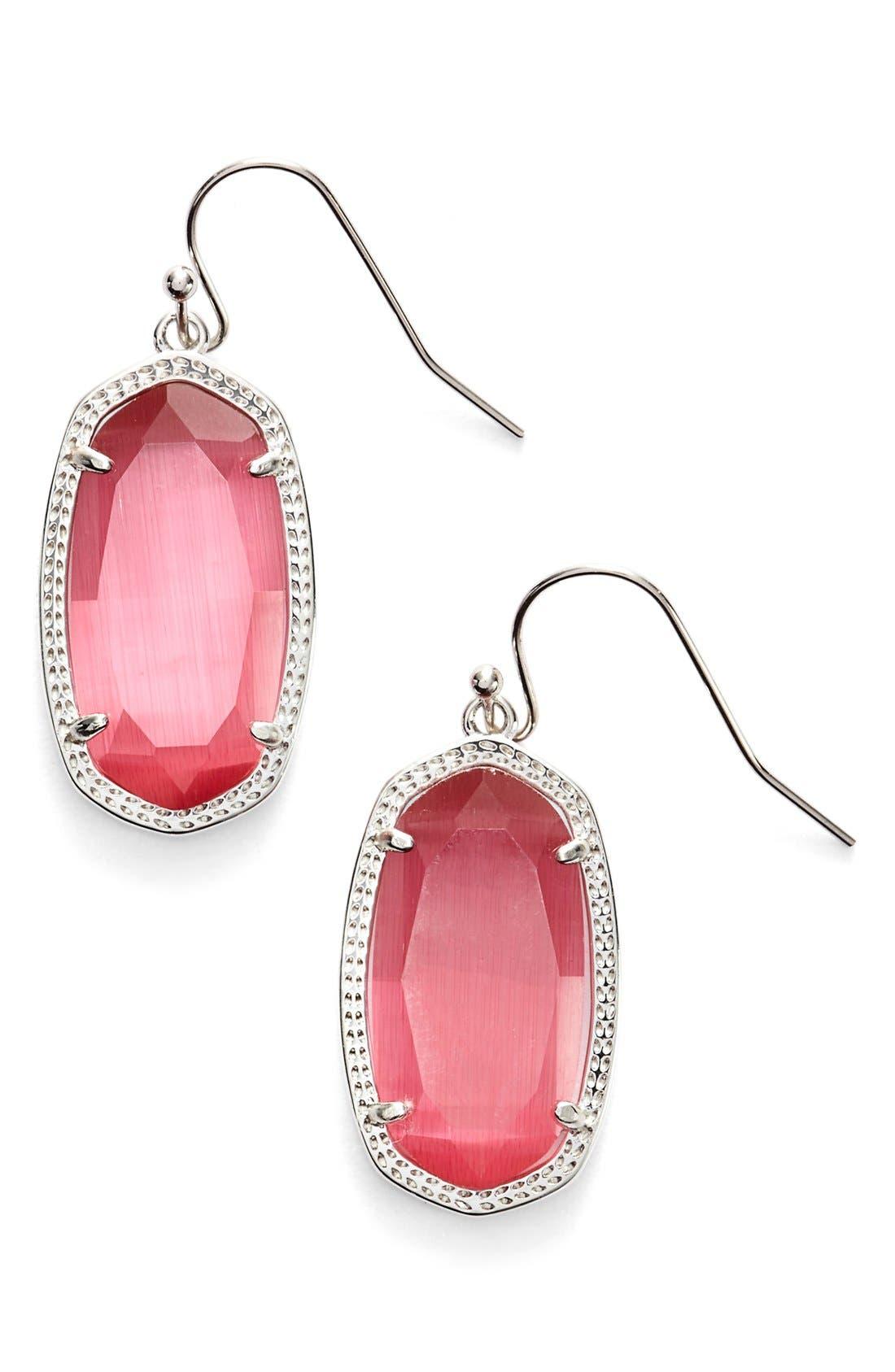,                             Dani Stone Drop Earrings,                             Main thumbnail 68, color,                             651