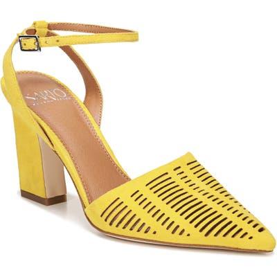 Sarto By Franco Sarto Starla Ankle Strap Pump, Yellow