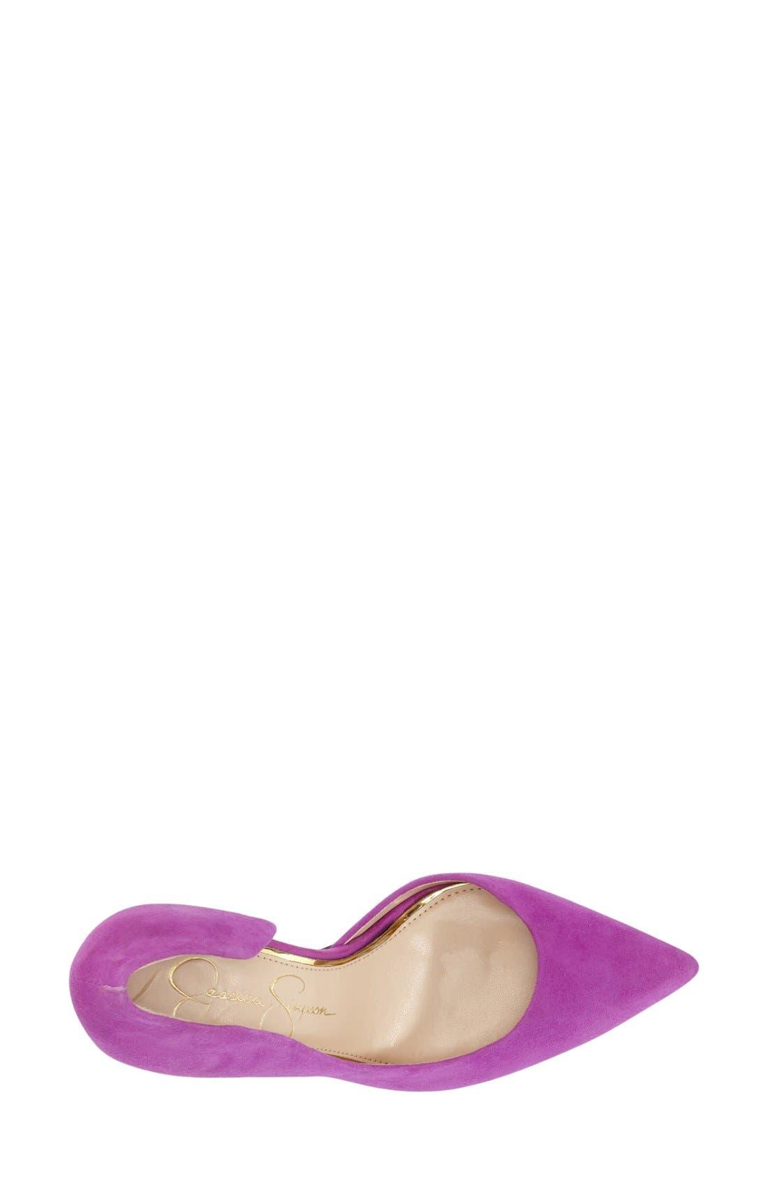 ,                             'Claudette' Half d'Orsay Pump,                             Alternate thumbnail 205, color,                             530
