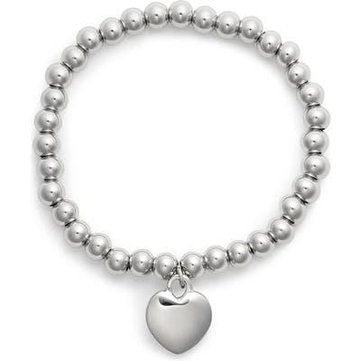 Knotty Heart Charm Bracelet