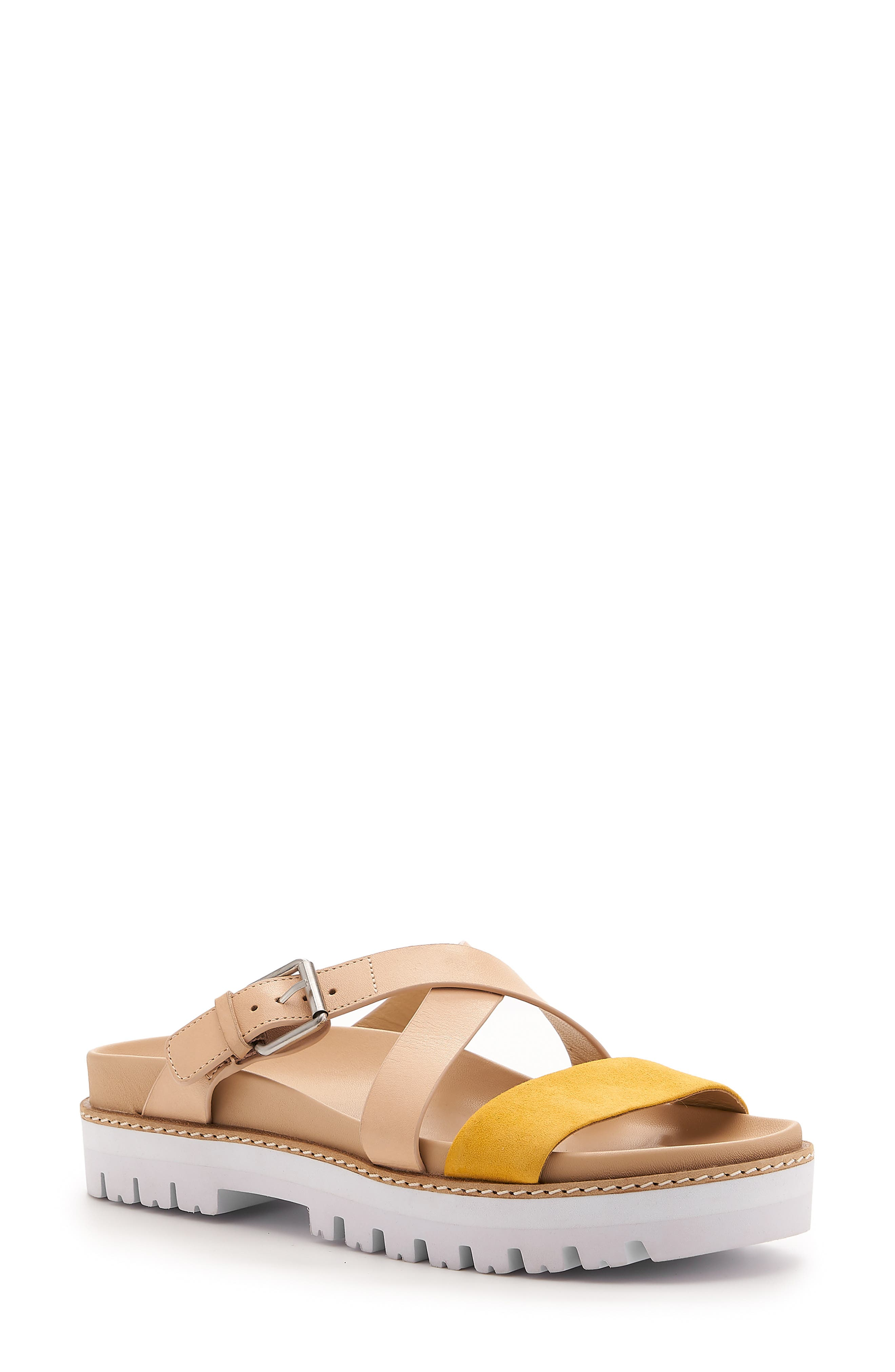 Botkier Jupiter Platform Slide Sandal, Yellow