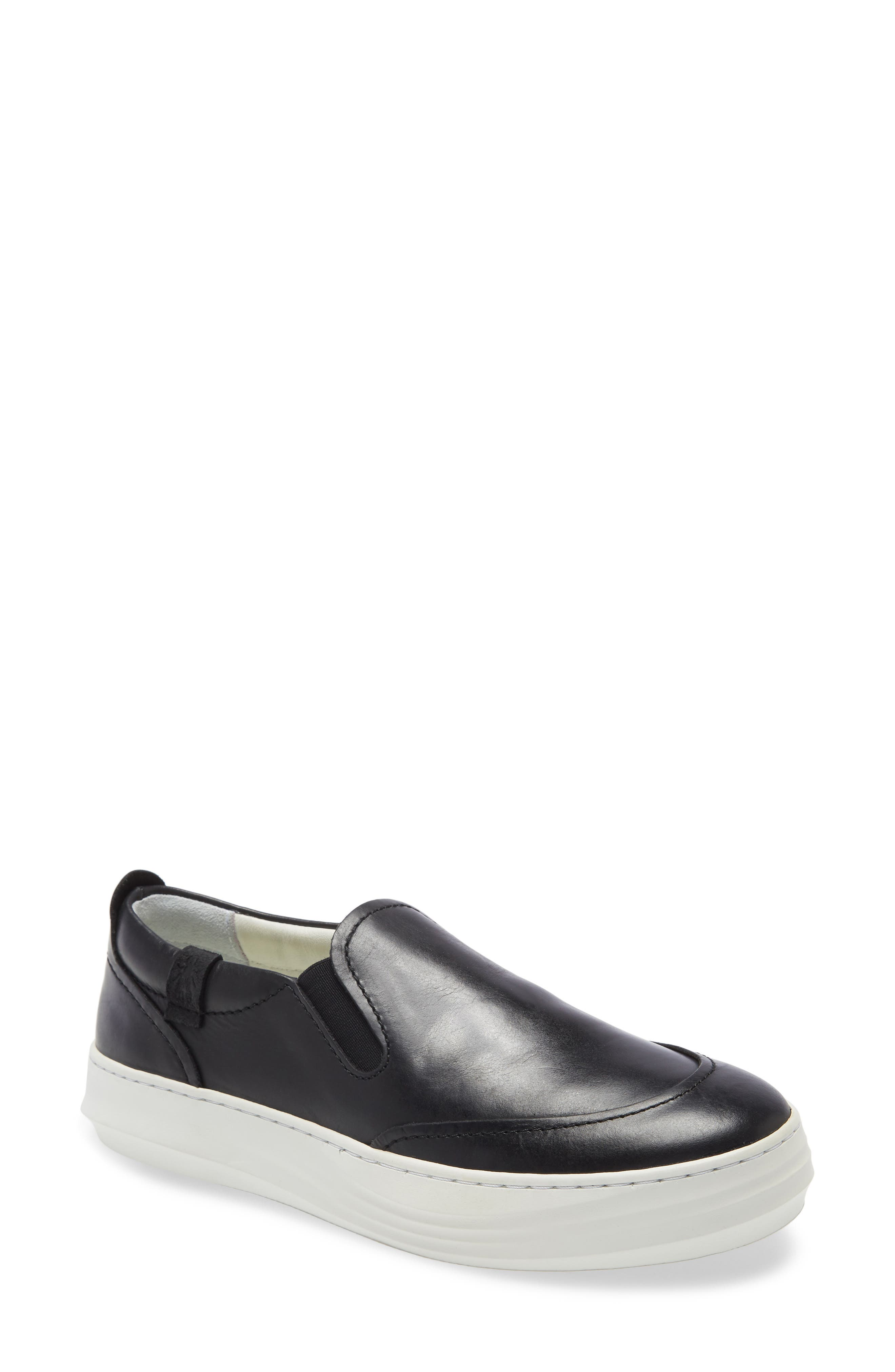 A padded collar and foam-cushioned footbed deliver comfort in this platform-boosted slip-on sneaker. Style Name: Fly London Cezi Platform Sneaker (Women). Style Number: 6002345. Available in stores.