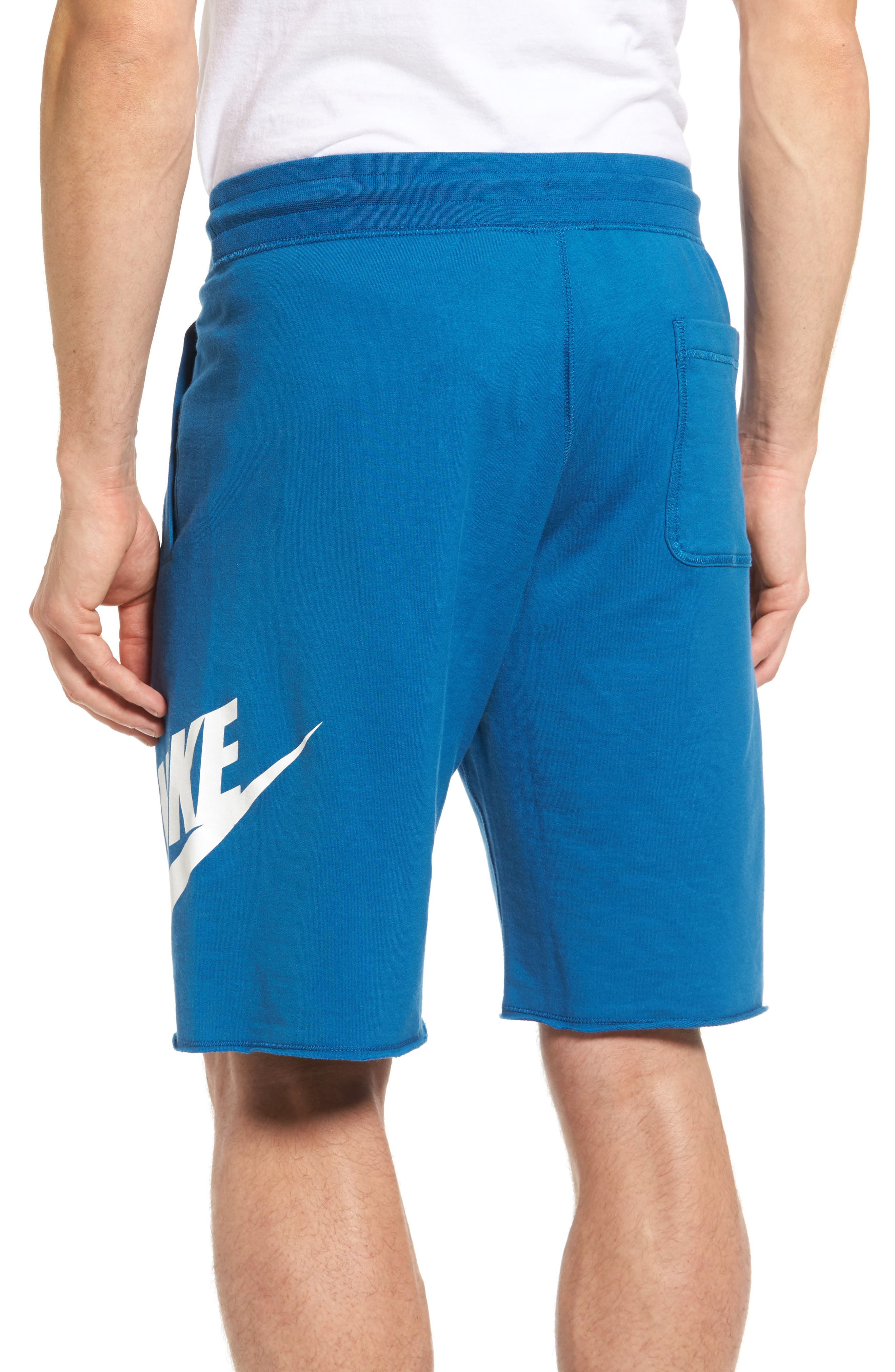 ,                             'NSW' Logo French Terry Shorts,                             Alternate thumbnail 25, color,                             457