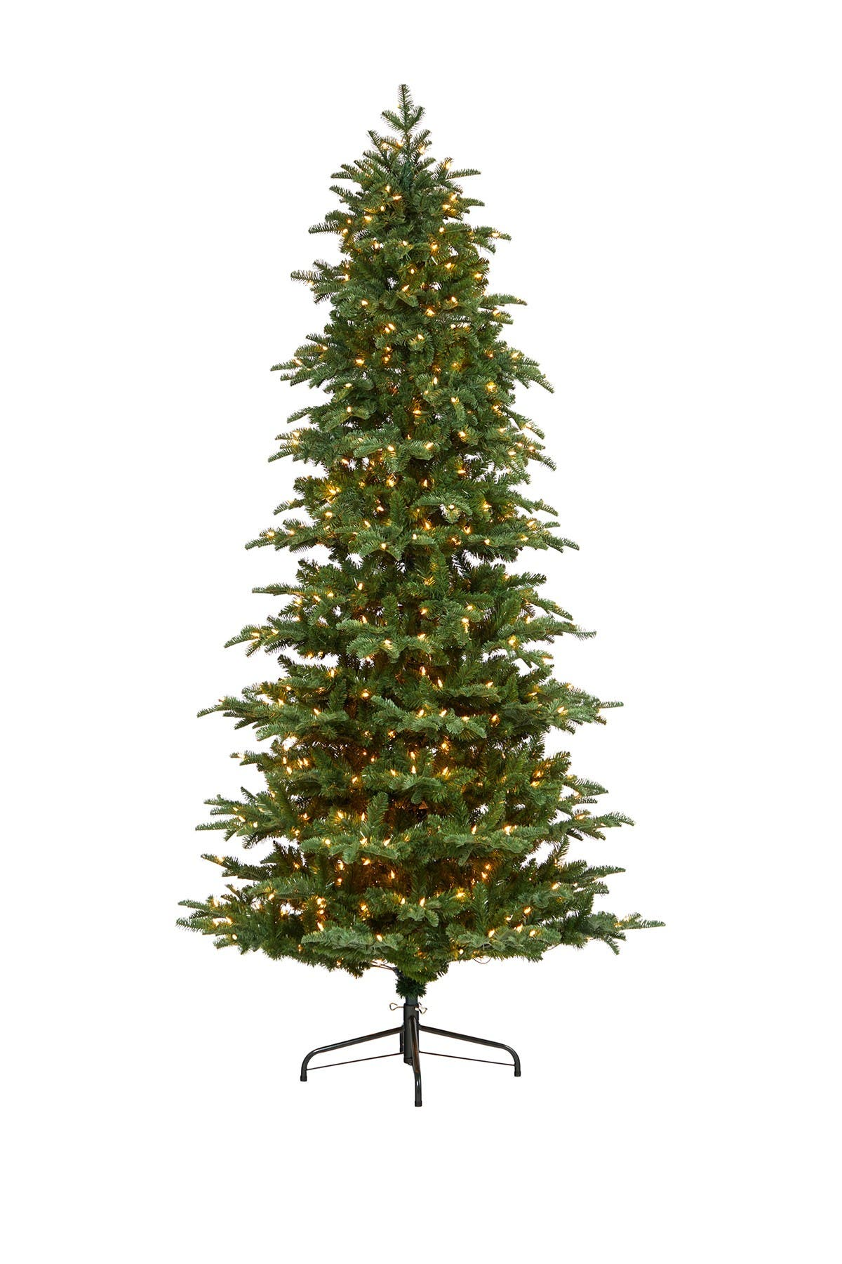 Image of NEARLY NATURAL 8ft. South Carolina Fir Artificial Christmas Tree with 650 Clear Lights