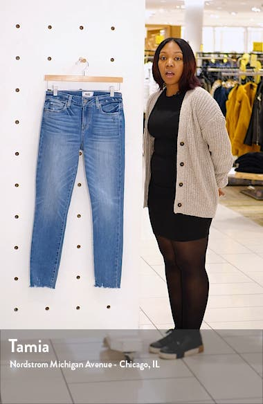 Verdugo Frayed Ankle Skinny Jeans, sales video thumbnail