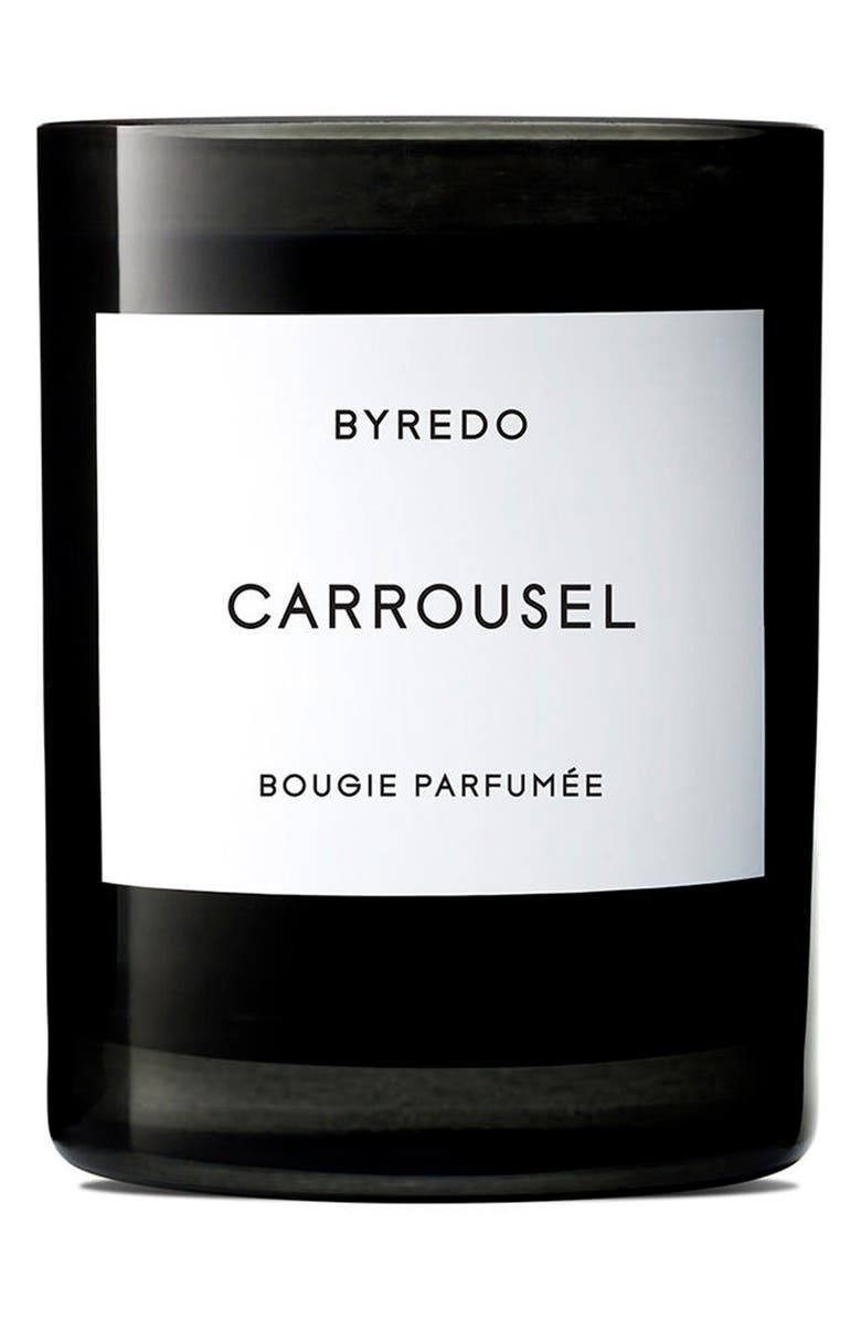 BYREDO Carrousel Candle, Main, color, NO COLOR