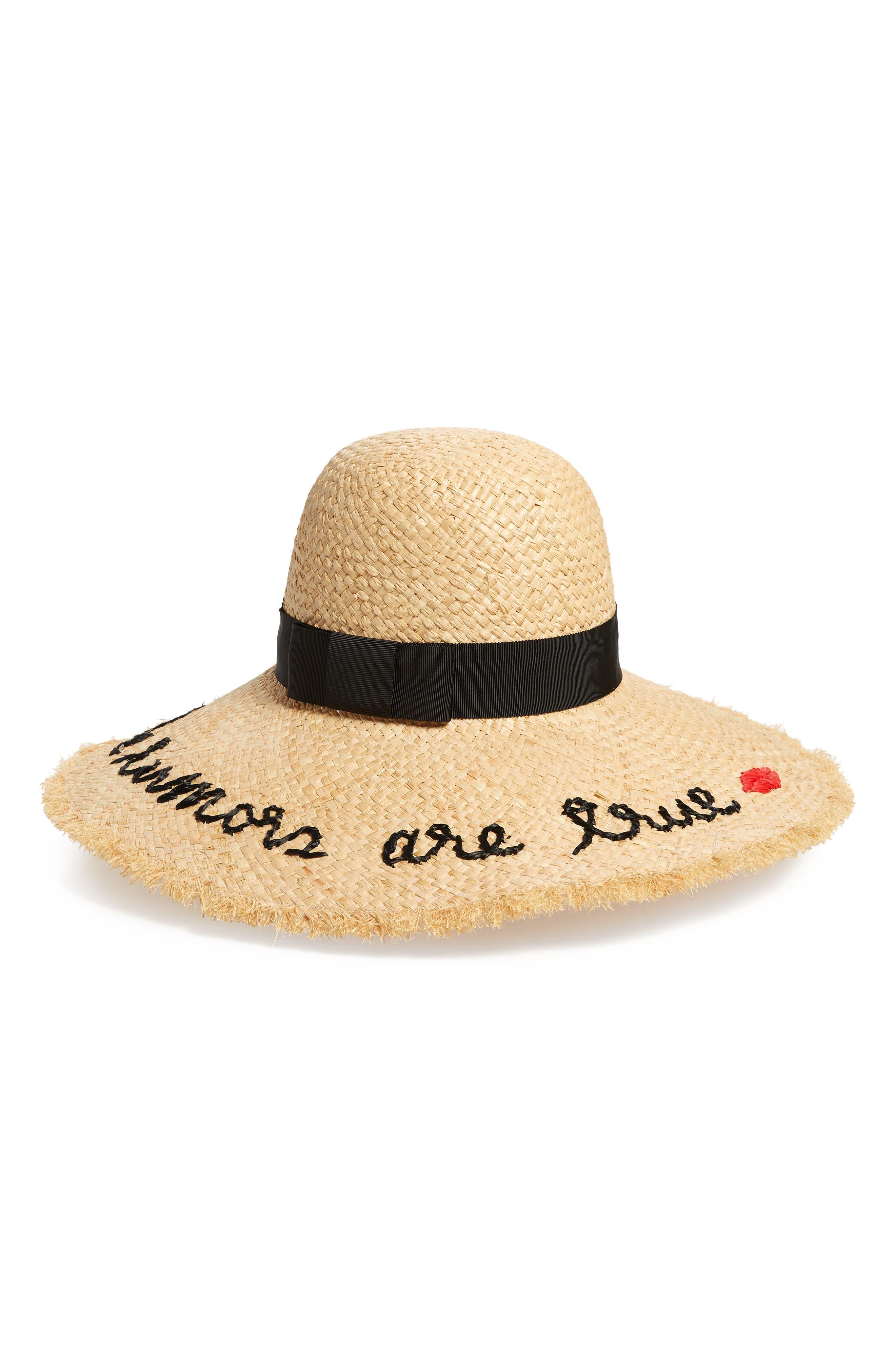 ,                             the rumors are true raffia hat,                             Main thumbnail 1, color,                             NATURAL