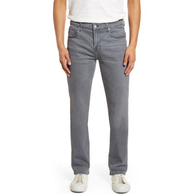7 For All Mankind Standard Straight Leg Jeans, Grey