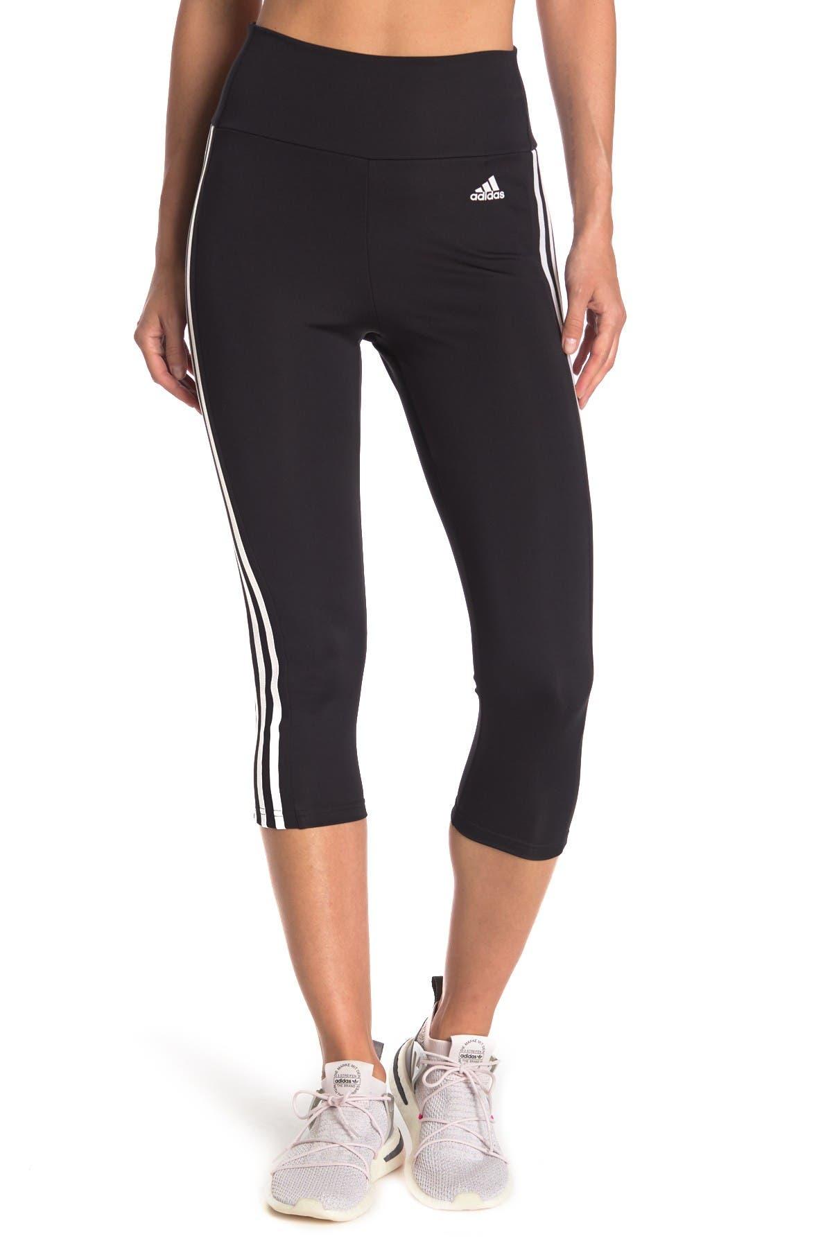 Image of adidas Elasticized Waist Logo Pants
