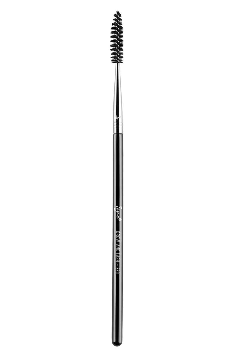 SIGMA BEAUTY E80 Brow and Lash Brush, Main, color, 000