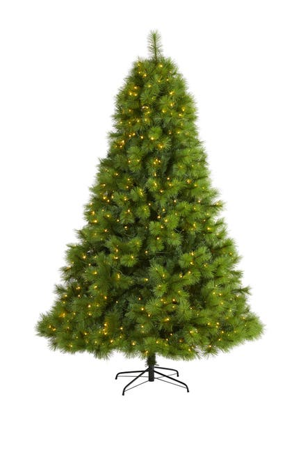 Image of NEARLY NATURAL 7.5ft. Green Scotch Pine Artificial Christmas Tree