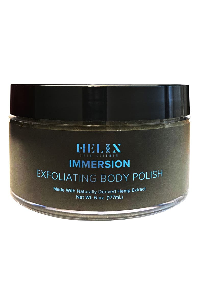 HELIX SKIN SCIENCE Immersion Exfoliating Body Polish with CBD, Main, color, NO COLOR