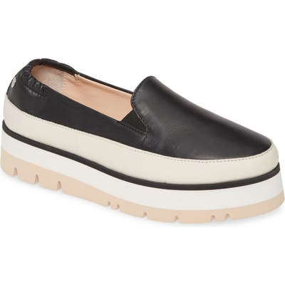 Agl Platform Slip-On Sneaker, Black