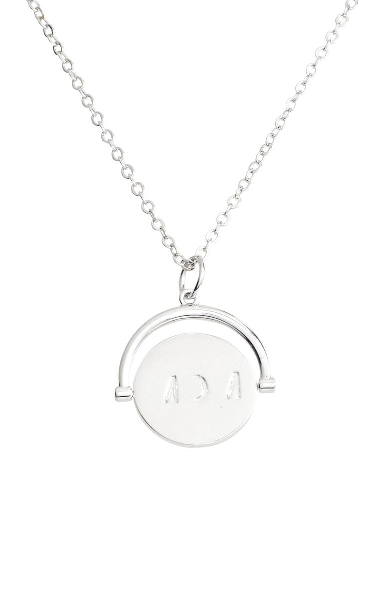 LULU DK Mom Love Letters Spinning Pendant Necklace, Main, color, 040