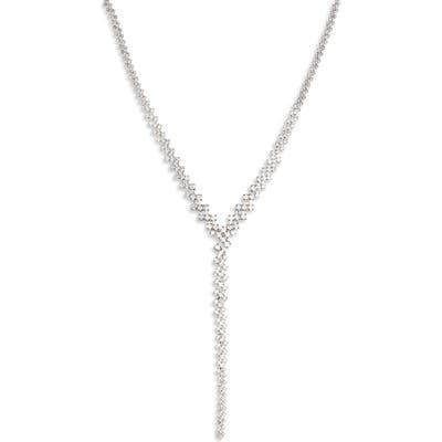 Critabelle Crystal Y-Necklace