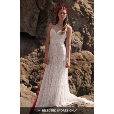 Willowby Cadah Strapless Bustier Wedding Dress