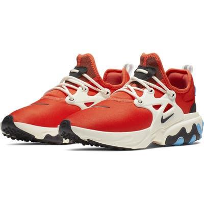 Nike Presto React Sneaker, Orange