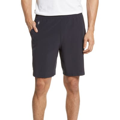 Smartwool Merino Sport 150 Water Resistant Athletic Shorts, Black