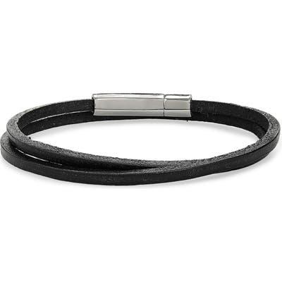 Jonas Studio Leather Wrap Bracelet