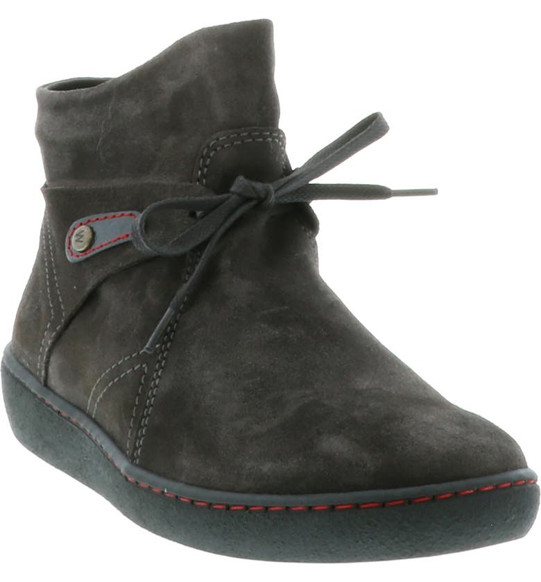 WOLKY Mahal Bootie, Main, color, ANTHRACITE SUEDE