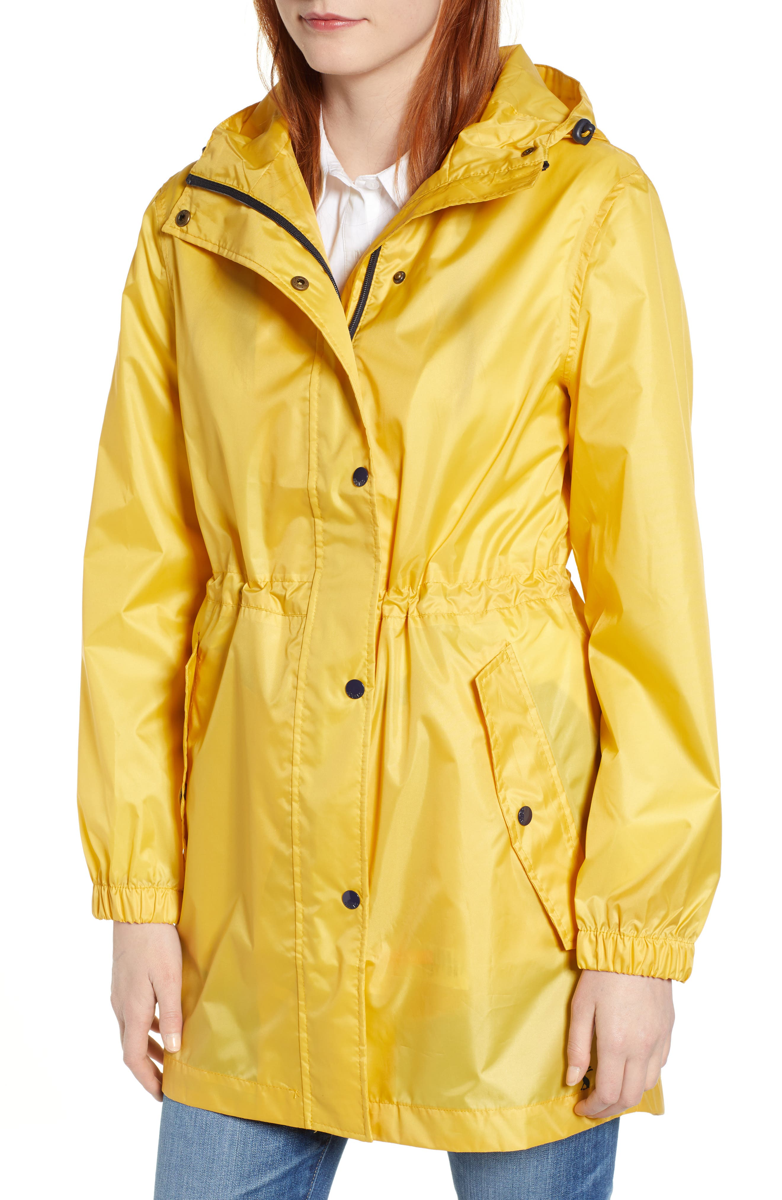 ,                             Right As Rain Golightly Packable Waterproof Hooded Jacket,                             Alternate thumbnail 5, color,                             ANTIQUE GOLD