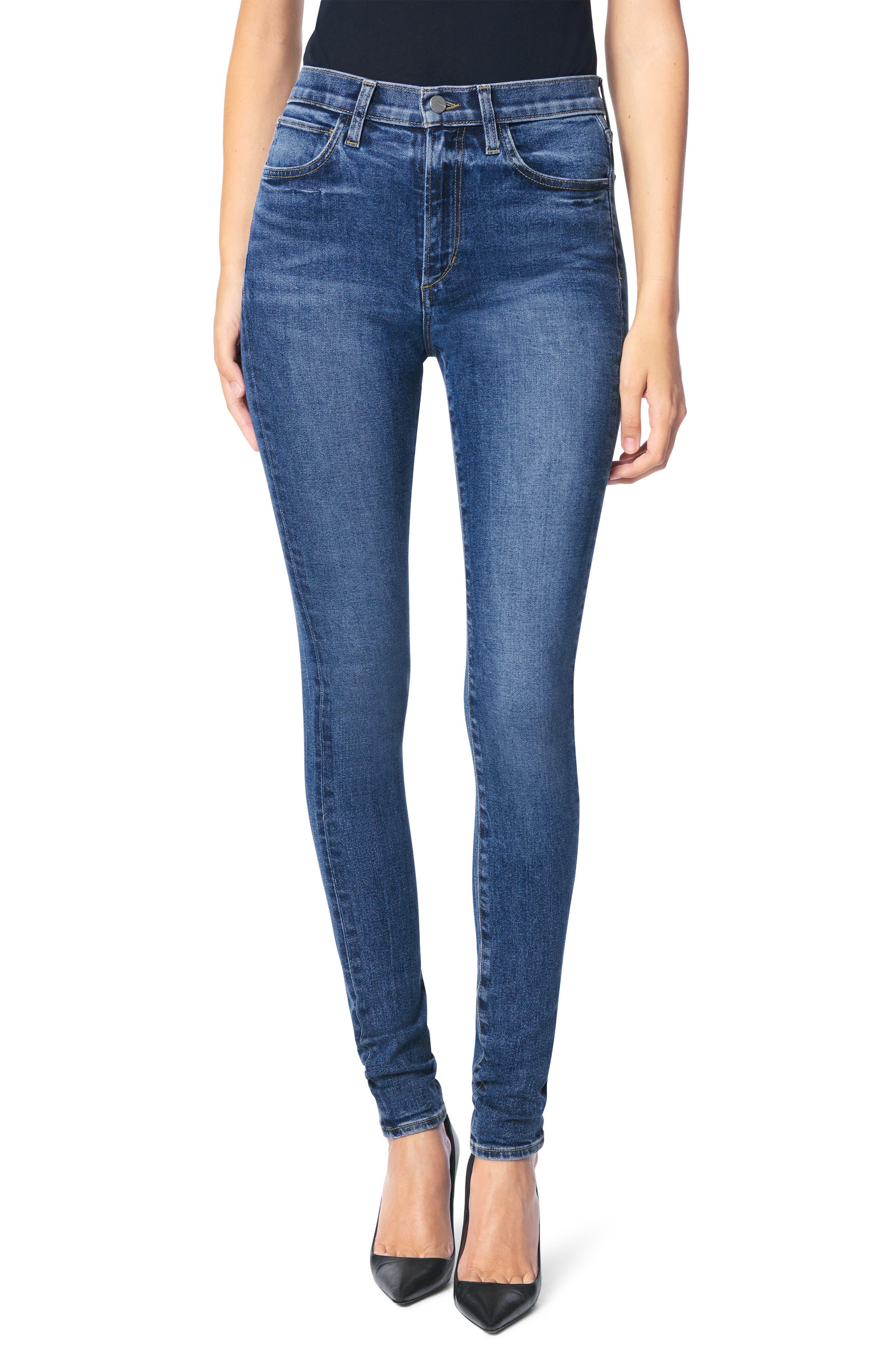 Twiggy High Waist Long Skinny Jeans