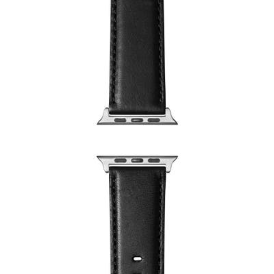 Shinola Aniline Leather Apple Watch Strap