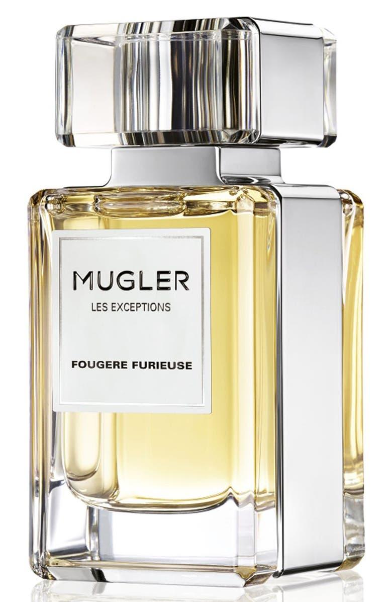 MUGLER 'Les Exceptions - Fougère Furieuse' Fragrance, Main, color, 000