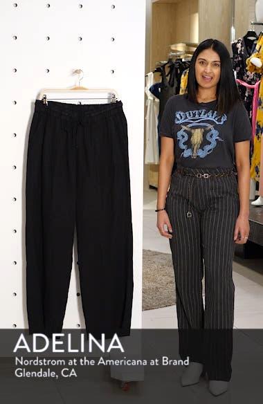 Linen Drawstring Pants, sales video thumbnail