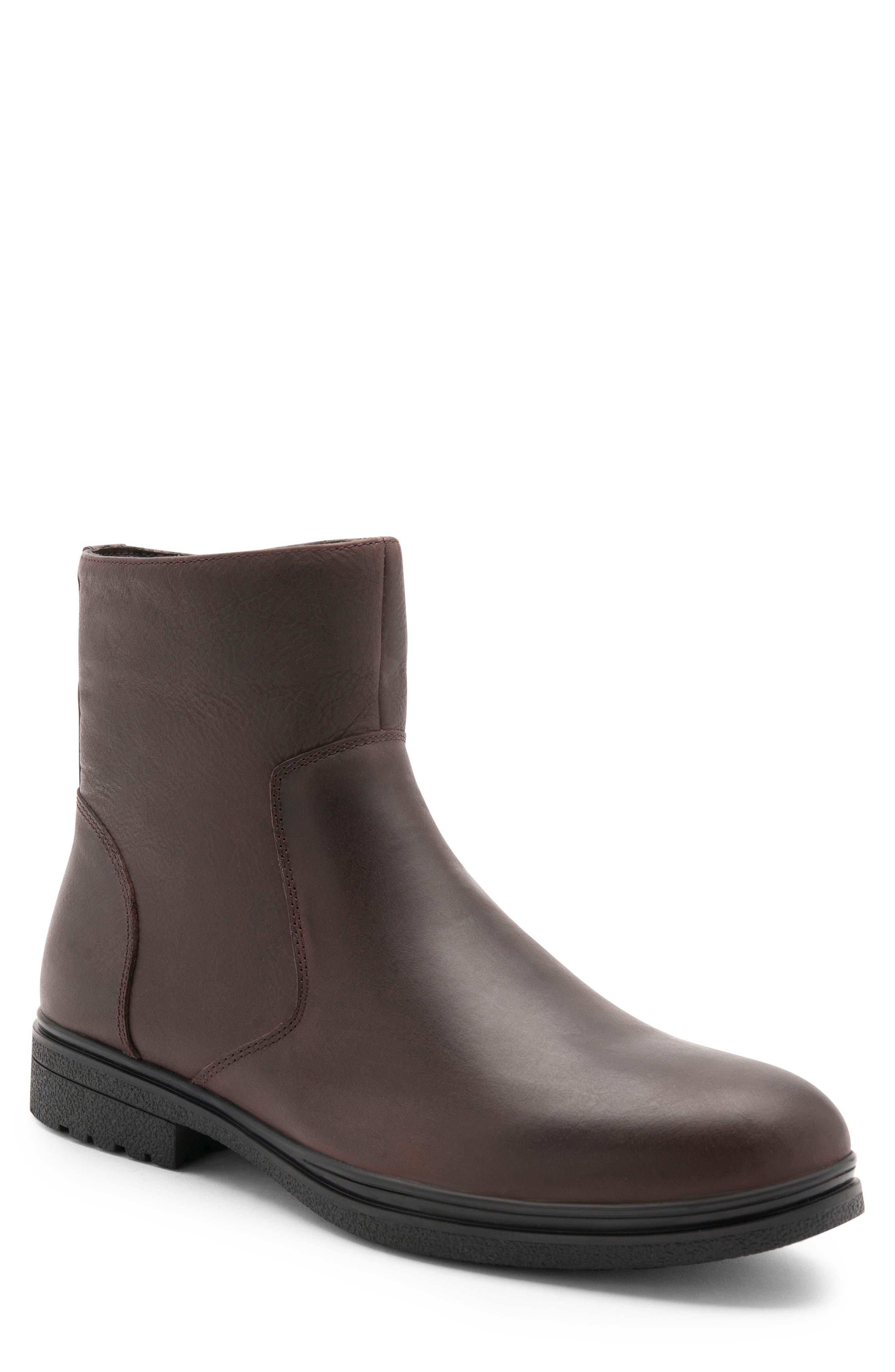 Blondo Sylvio Waterproof Zip Boot- Brown