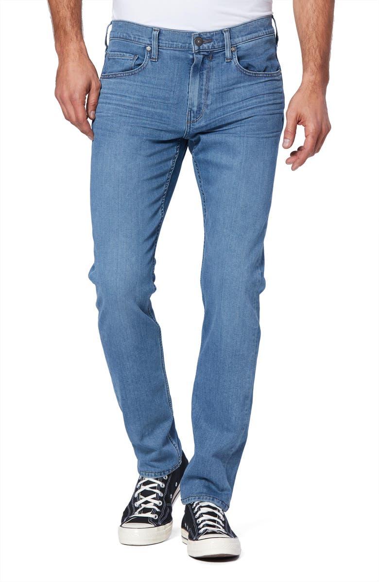 PAIGE Transcend Federal Slim Straight Leg Jeans, Main, color, COLIN
