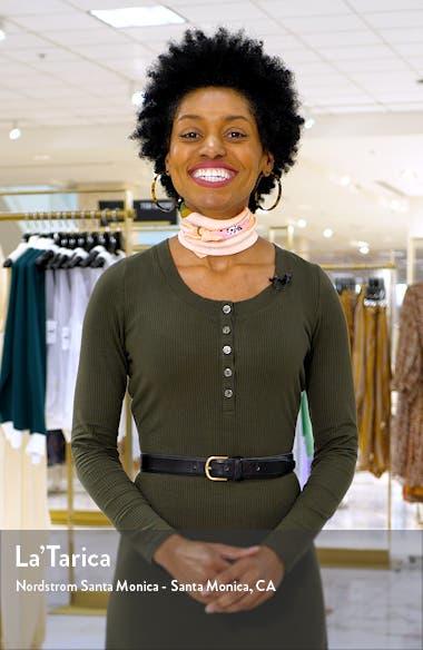 Love Vine Button Up Short Sleeve Dress, sales video thumbnail