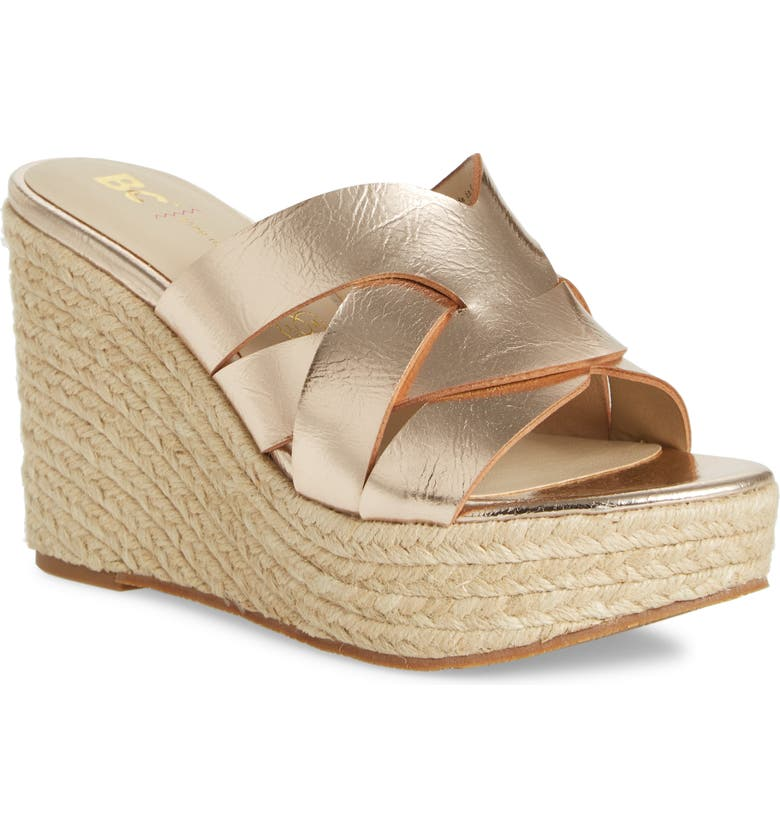 BC Footwear Eden Vegan Espadrille Wedge Women