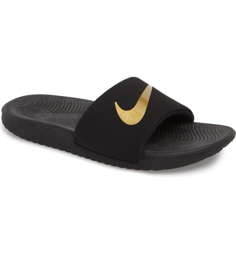 NIKE 'Kawa' Slide Sandal, Main, color, 003