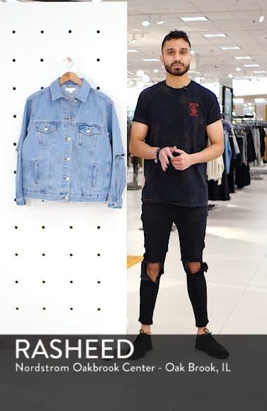 Rip Elbow Denim Jacket, sales video thumbnail