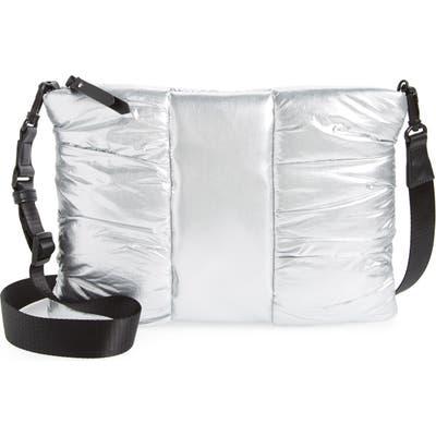 Bp. Puffer Crossbody Bag - Metallic