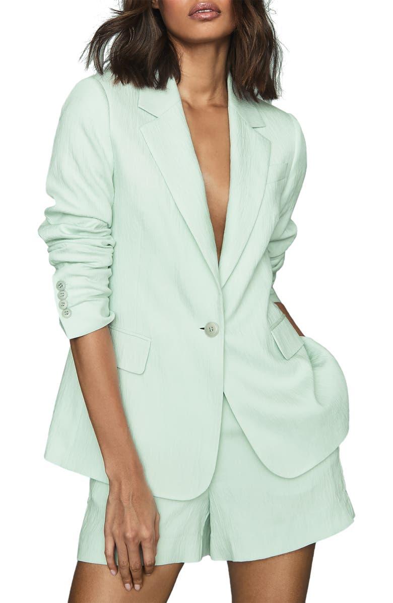 REISS Lana Textured Jacket, Main, color, 301