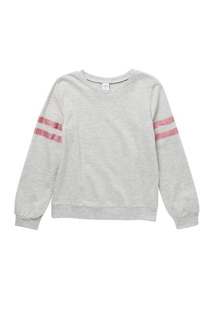 Image of Harper Canyon Striped Long Sleeve Fleece Sweater