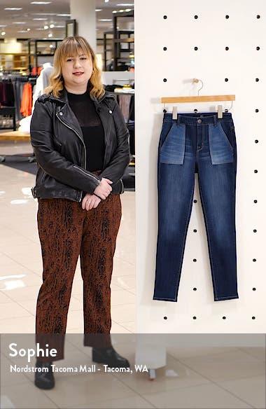 Colorblock Skinny Jeans, sales video thumbnail