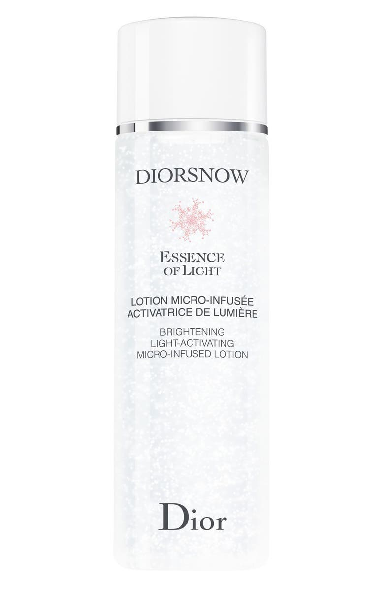 DIOR Diorsnow Essence of Light Brightening Light-Activating Micro Infused Lotion Essence, Main, color, NO COLOR