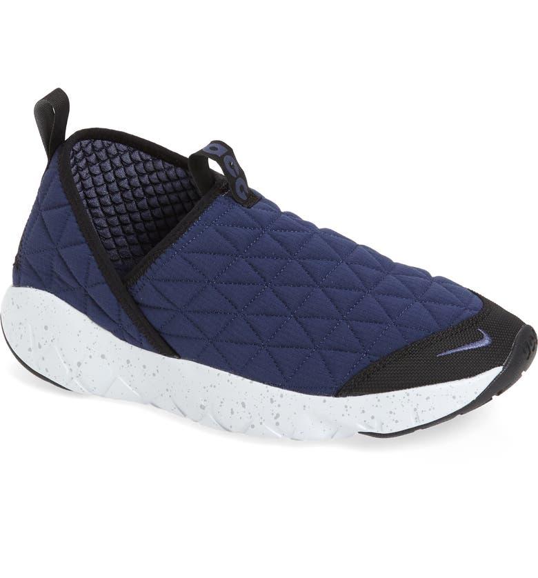 NIKE ACG Moc 3.0 Hiking Sneaker, Main, color, MIDNIGHT NAVY/ SANDED PURPLE