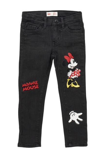 Image of Levi's x Disney Minnie Mouse 710 Super Skinny Jeans