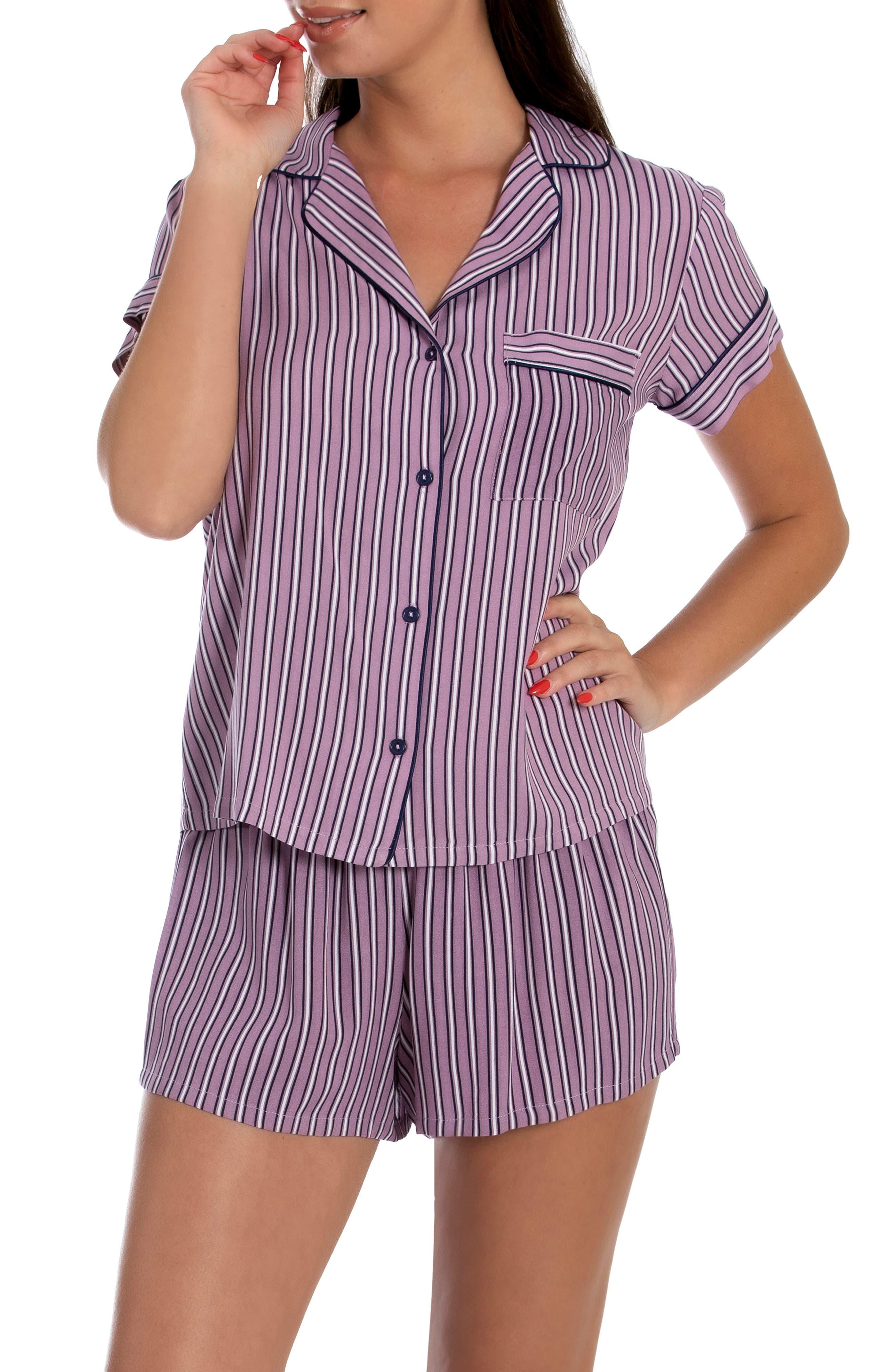 Stripe Short Pajamas